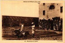 CPA  Abbaye de Citeaux (Cote-d'Or) - Motoculture au jardin (586356)