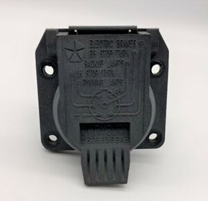 OEM 98-18 Jeep Liberty Wrangler JK Trailer Hitch 7 Way Pin Connector Plug Towing