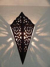 applique murale Marocaine fer forgé lampe lustre 1c lanterne decoration oriantal