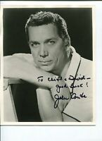 John Conte Man with the Golden Arm Perry Mason Signed Autograph Photo