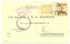 NED INDIE DUTCH INDIES 1928-11-6  BK  PROPELLER ST    VF