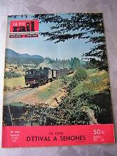 vie du rail 1955 502 la ligne éTIVAL MOYENMOUTIER SENONES éPINAY VILLETANEUSE