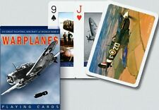 Playing Cards Warplanes World War II Non-Standard Each Card Different Sealed