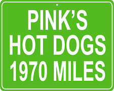 Pink's Hot Dogs in Los Angeles, CA - distance to your house