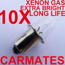 10 worklight Torch Bulb 18V for Hitachi Ryobi Mikita RIDGE BOSCH AEG XENON Gas