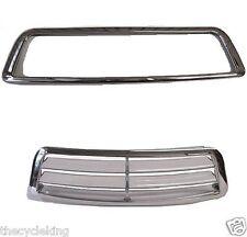 Chrome windshield vent ACCENT - GL 1500 Honda Goldwing GL1500