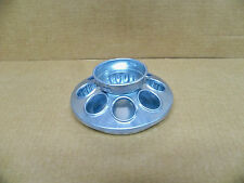 6 New - Galvanized Metal Round Mason Jar Feeder (DF)