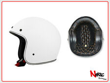 AFX FX 76 CASCO MOTO CAFE RACER CUSTOM VINTAGE HELMETH CHOPPER WHITE