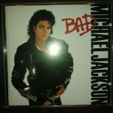 MICHAEL JACKSON Bad CD ©1987 DADC PRESS! Epic EK 40600 DIDP RARE!