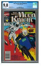 Marc Spector Moon Knight 25 1991 Key Ghost Rider Meeting Newsstand CGC 9.8 JZ249