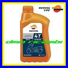 12 Litri Olio Motore 4 tem. REPSOL Scooter 5W40 Sintetico SL MA2 APRILIA PIAGGIO