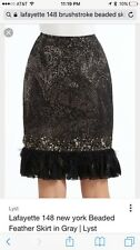 NWT Lafayette 148 New York Black Skirt, $698 MSRP