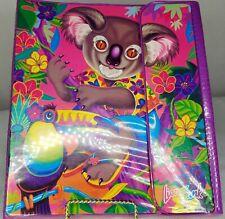 Lisa Frank Tucan Koala Bear Trapper Keeper Binder Rare Vintage 1990s
