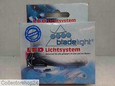 Skate / Blade Lights LED , Skate verlichting Led 6x LED . 1x Red , 2x White