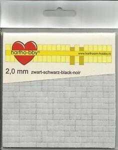 Klebepads - 5 x 5 mm - schwarz - verschiedene Stärken - 3D-Pads - 3D-Klebekissen