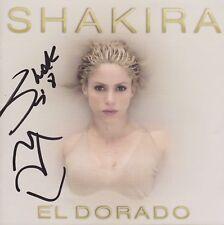 """SHAKIRA """"El Dorado"""" NEU CD Album Booklet signed signiert IN PERSON Autogramm RAR"""