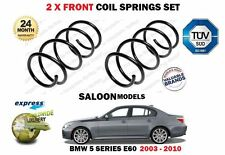 FOR BMW E60 SALOON 520 520D 523 525 530 2003-2010 NEW  2X FRONT COIL SPRINGS