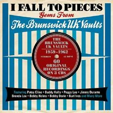 I Fall To Pieces-Gems From The Brunswick UK Vaults 1959-1962 3-CD NEW SEALED
