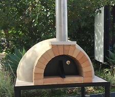 Pizza oven dome outdoor 800 woodfired wood fired DIY kit With Metal Stand Built