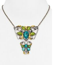 Alexis Bittar Elements Two Tiered Olmeca Pendant Necklace. *****NEW*****