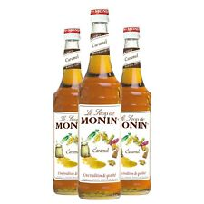 Monin Sirup Caramel, 0,7L, 3er Pack