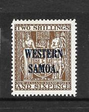 SAMOA  1945-53  2/6  ARMS  MLH   SG 207