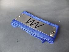 Bandeau cosplay NARUTO Shippuden emblème signe Neuf sous blister plaque metal 02