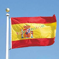 SPAIN SPANISH NATIONAL LARGE 5 x 3FT Fans SUPPORTERS FLAG PREMIUM QUALITY
