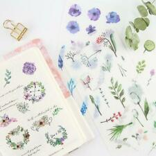 6pcs/pack DIY Natural Decor Adhesive Stickers Diary Stationery Scrapbooking