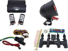 High Quality Car Alarm Remote Siren & Full Set Central Locking Kit 4 Doors 4