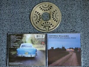 LUCINDA WILLIAMS - Car wheels on a gravel road - CD