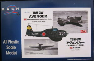 1/72 Mach 2 Models JAPANESE GRUMMAN TBM 3W AVENGER Sub Hunter *MINT*