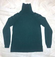 Womens Massimo Dutti Cashmere Blend Polo Roll Neck Jumper Size S Small