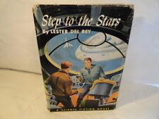 Step To The Stars LESTER DEL REY 1954 1ST/1ST HARDBACK & DUST JACKET