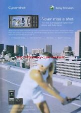 "Sony Ericsson Cyber-Shot ""Never Miss A Shot"" 2006 Magazine Advert #3123"