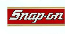 """NEW"" Vintage Snap-on Bill Elliot Tool Box Sticker Emblem Racing Decal SS993"