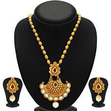 Sukkhi Marvellous Gold Plated Kundan Necklace Set(2580NKDP900)
