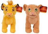 Lion King Soft Plush Simba and Nala 2 Pack Bundle Ages 2+ Toy Play Gift Set Roar