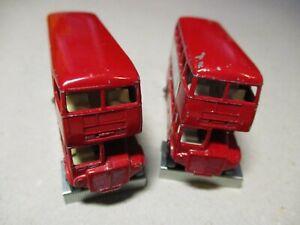 Matchbox Regular Konvolut - 2x Nr.5 London Bus - Varianten !!