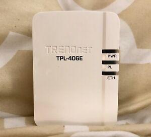 TRENDnet TPL-406E2K 500 AV Compact Nano Powerline Adapter