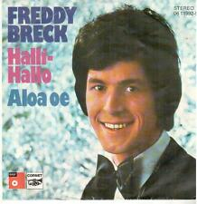"<1800-05> 7"" Single: Freddy Breck - Halli-Hallo"
