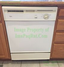 Whirlpool ☆ Dishwasher ☆ White ☆ Under Counter ☆ Du800Cwdq3 ☆ Excellent