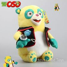 "Store Special AGENT OSO Bear Plush Toy Doll New with Tag 14"" FREE SHIPPING !"