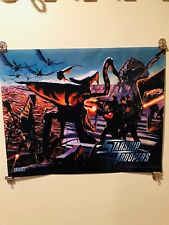Starship Troopers Pinball Machine Translite Sega 1997