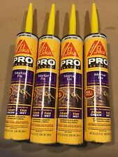 SIKA CORPORATION Sikaflex Pro Mortar Fix~4/10.1 Ounce Tubes~7/20 Date~Save $$$!!