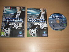 FOOTBALL MANAGER 2011 Pc / MAC DVD Rom FM FM2011 - FAST DISPATCH