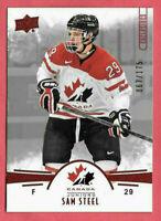 2016-17 Sam Steel Upper Deck Team Canada Juniors 067/175 Red - Anaheim Ducks
