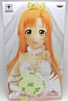 SAO Sword Art Online Code Register Wedding Asuna EXQ Figure BANPRESTO