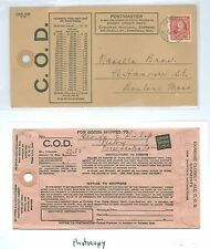 Canada Sc 219 on 1936 Canadian National Express COD Envelope, Oxford Pictou RPO
