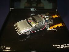 "DeLorean DMC-12 1985 ""BACK TO THE FUTURE"" MINICHAMPS 436140070 1/43"
